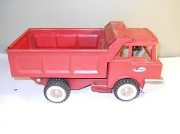 Vintage Structo Dump Truck - Red | #1868625928