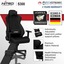 Nitro S300 FABRIC GAMING CHAIR Black/Black-Red/Black-White [Available In 3  Colors] Loungie Microplush Recliner Chair Folding Floor Mat Adjustable Gaming Easy Storage Inspired Home The Best Chairs For Xbox And Playstation 4 2019 Ign Amazoncom Buyhive Funto Sofa Lounge Seat 8 To Buy In 20 Comfort Ac Pacific Tyson Collection Contemporary Micro Suede Living Light Blue 650x75cm Dulplay Lazy Sofa Chairs Foldable 14position Adjustment Backrest Large Bean Bag Combination Sofas Covers Indoor Lounger Waterproof Bed Kjrjsf Game