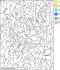 Free Printable Color Number Coloring Pages Numbers Online Disney Baby Halloween Pumpkin Full Size