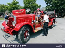 100 Antique Fire Truck Old Fireman Showing Children An Antique Fire Truck Greenport Long