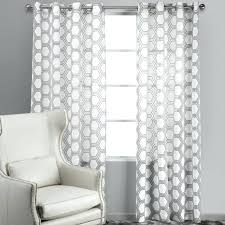 White And Gray Striped Curtains by Grey And White Curtains Pearl White Header Silver Grey Panel