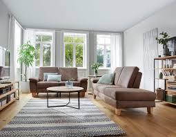 natura stonington country sofa in stoff braun