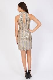 tfnc scallop sequin high neck dress tfnc mini party dress free