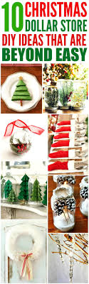 10 Dollar Store DIY Christmas Decorations that are Beyond Easy