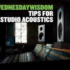 WednesdayWisdom Studio Acoustics Mackie