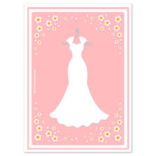 baby dress card template