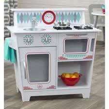 cuisine vintage blanche kidkraft kidkraft cuisine classique enfant blanche pas cher achat