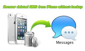 Get back deleted messages on iPhone without backup