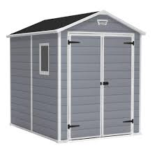 Rubbermaid Gable Storage Shed 5 X 2 by Keter Manor 6 Ft X 8 Ft Outdoor Storage Shed 213413 The Home Depot