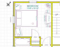 Bedroom Furniture Layout