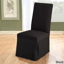 Stretch Dining Room Chair Slipcover Free Shipping Orders Black Armchair Over Gumtree Sydney Furniture Comfortable High Back Dfs Leather Suites Two Piece