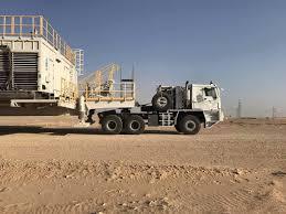 100 Oilfield Trucking CTP Oilfield Truck Working In Sahara Desert For Rig Moving