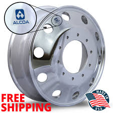 19.5 X 6 FORD F450/550 10 LUG ALCOA WHEELS 763297