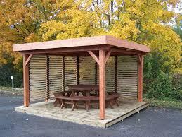 bac a avec toit auvent ombra toit plat couverture bac acier avec ventelles mobiles