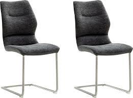 mca furniture freischwinger orlando 2er set stuhl belastbar bis 120 kg kaufen otto