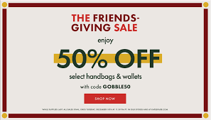 Kate Spade The Friends Giving Coupon Code Sale: Save 50% Off ...