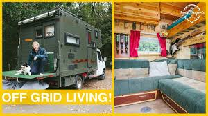 100 Vans Homes His Luton Box Van Conversion Is BEAUTIFUL Van Tour YouTube