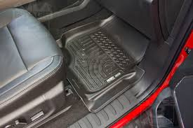 Weathertech Floor Mats 2015 F250 by 2015 2018 F150 Supercrew U0026 Supercab Husky Liners Weatherbeater