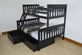 Kids VersaLoft Twin Over Full Bunk Bed from DutchCrafters Amish