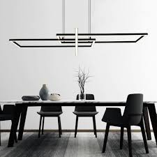 etc shop hängeleuchte led design decken pendel le schwarz matt wohn ess zimmer beleuchtung hänge leuchte dimmbar über lichtschalter kaufen