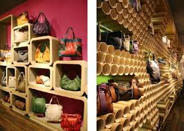 Display Items For Handbags Retail Stores