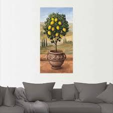 20 99 artland wandbild zitronenbaum bäume 1 stück