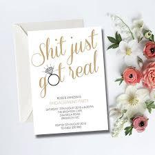 Engagement Party Wedding DIY Printable Invitation