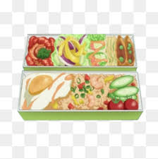 Picnic Lunch Box Hand Painting Material Picture Convenient Fast Food PNG And