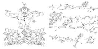 Secret Garden Coloring Pages Free In
