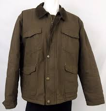 Wrangler Brown Canvas Jacket Fleece Sherpa Lined, Men's Large ... Orvis Mens Corduroy Collar Cotton Barn Jacket At Amazon Ll Bean Coat M Medium Reg Adirondack Field Brown Powder River Outfitters Wool For Men Save 59 Dorrington By Woolrich The Original Outdoor Shop Clearance Outerwear Jackets Coats Jos A Bank North Face Millsmont Moosejawcom Chartt Denim Stonewashed 104162 Insulated Filson Moosejaw Canvas Ebay Burberry In Green For Lyst J Crew Ranch Work Removable Plaid Ling