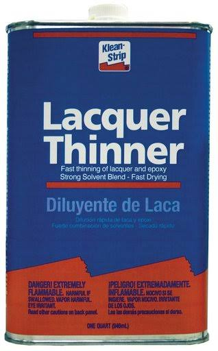 Klean-Strip Lacquer Thinner - 946ml