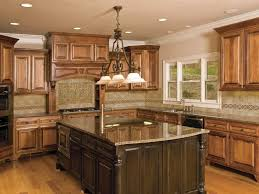 Kitchen Tile Backsplash Ideas With Dark Cabinets by Design And Picture Gallery Of Kitchen Tile Backsplash Ideas
