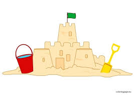 Kids Sand Castle Simple Sandcastle Template
