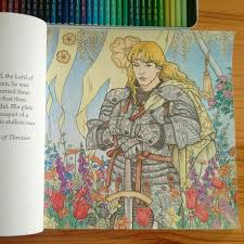 I Finally Finished Colouring This Page Of The Game Thrones Book