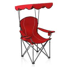 Alpha Camp Shade Canopy Camping Chair Support 350 LBS ...