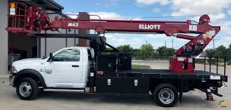 Elliott M43R 43' Telescopic Aerial Work Platform On Dodge Ram 5500 ...