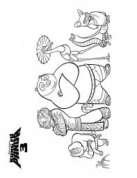 And More Of These Coloring Pages Kung Fu Panda 2