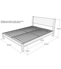 Bed Frame Types by Bed Frames King Size Bed Dimensions Constructing A Queen Sized