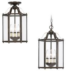 Bretton Pendants Traditional Outdoor Hanging Lights by