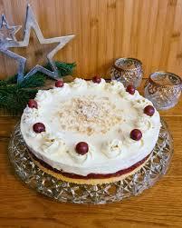 vanillekipferl kirsch torte