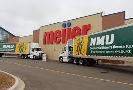 Meijer Donates Trucks To NMU Program - Northern Michigan University Private Truck Driving Schools Cdl Beast Are You Hoping For A Shortcut To Get Your It Just Doesnt Work Commercial License Tickets Drivers Ny Bus Driver Traing Union Gap Yakima Wa Central Community College Licensing Services Archives Drive For Prime 5 Industries Looking Holders In Oakland City In Atlanta Jobs Free Images Advertising Label Brand Cash Font Design Text