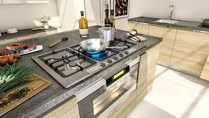 Kitchen Island With Cooktop And Seating 37 Large Kitchen Islands With Seating Pictures Designing