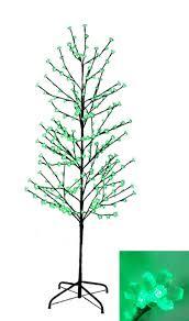 Walmart Canada Fiber Optic Christmas Tree by 6 U0027 Enchanted Garden Led Lighted Cherry Blossom Flower Tree Green