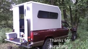 Truck Camper Build. - YouTube