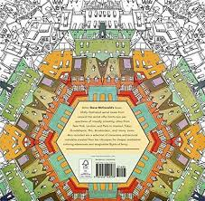 Fantastic Cities Coloring Book Of Amazing Places AIA Store