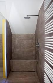 tipps für walk in dusche gemauert dachschräge angepasst