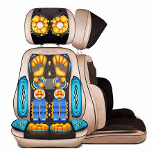 Back Massage Pads For Chairs by Full Body Electric Massage Chair Shiatsu Office Cervical Back Neck