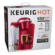 Keurig K50 Single Serve Coffee Maker Red