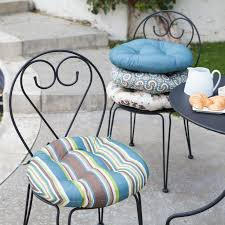 Papasan Chair Cushion Cheap Uk by Round Outdoor Bistro Seat Cushions Choice Comfort Your Cushions