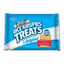 Rice Krispie Treats Halloween Shapes by Amazon Com Rice Krispies Treat Super Sheet 32 Ounce Unit